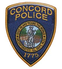 concord police badge